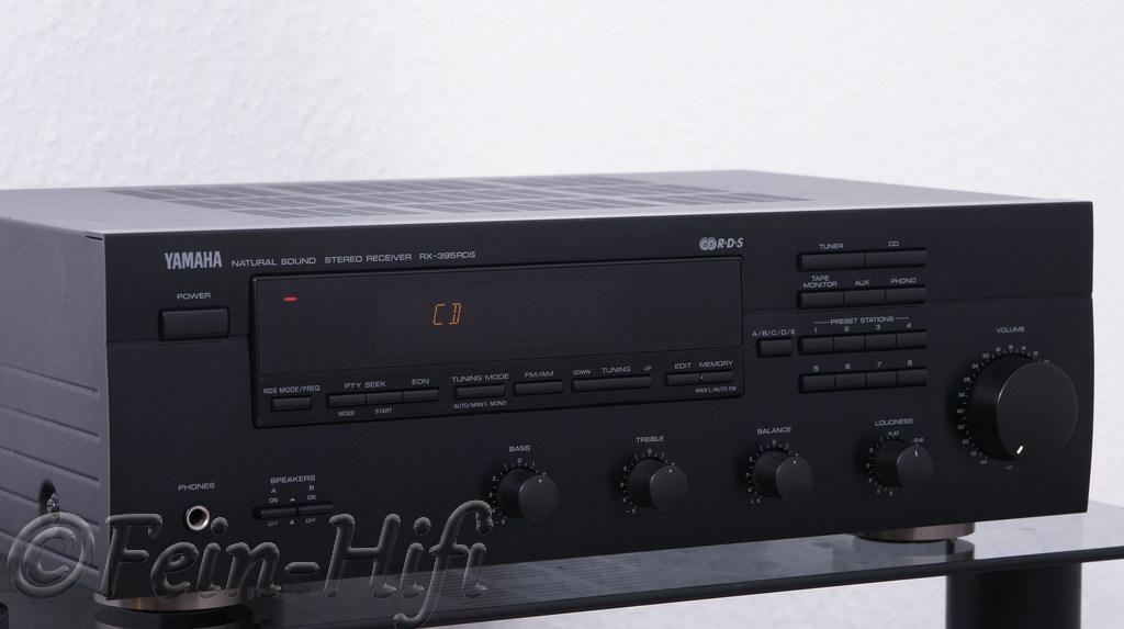 yamaha rx 395 stereo hifi verst rker mit phono eingang ebay. Black Bedroom Furniture Sets. Home Design Ideas